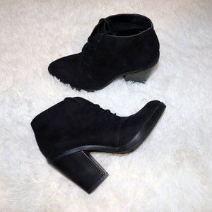 Steve Madden Chunky Heel Lace Up Boots